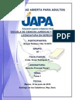 Tarea 1 Derecho Procesal Penal I 10-07-2018