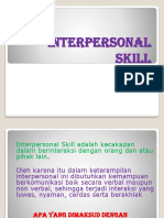 1 Pengenalan Interpersonal Skill 20141115