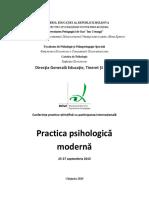 Practica Psihologica Moderna 2015