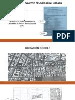 Nombre Proyecto Densificacion Urbana