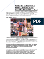 Analisis Recubrimientos Comestibles (Carne)
