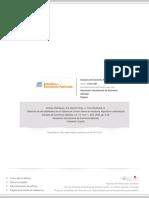 Detección de las debilidades de un Sistema de Control Interno en Auditoría. Algorítmos matemáticos