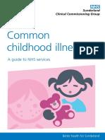 Sunderland CCG Common Childhood Illnesses Web Version