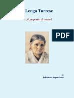 Salvatore Argenziano - A Lenga Turrese 03. A proposito di articoli