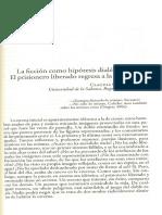 Carbonell, Claudia. La Ficción Como Hipótesis Dialéctica .