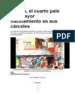 Bolivia Carcel