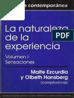 EZCURDIA-HANSBERG - La naturaleza de la experiencia.pdf