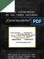 Jóvenes Vulnerables en Las Redes Sociales