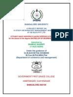 Bangalore University Certificates 2014