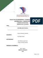 Informe Visita Tecnica Machala