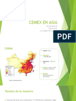 Cemex en Asia