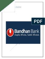Bandhan Bank Project