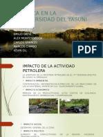 Amenaza en La Biodiversidad Del Yasuni