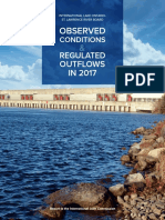 International Lake Ontario- St. Lawrence River Board Observed Conditions and Regulated Outflows in 2017