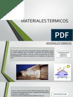 Materiales Termicos
