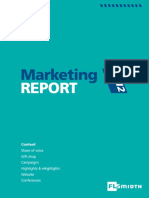 Marketing Report 2012