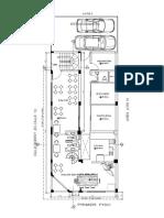 Arquitectura Plano Piso 1 Bar