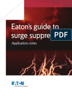 Surge Suppression Applictation Notes 2013