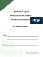 Formulário Protocolo SALDANHA Preenchido