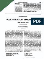 Bachiarius PL 20
