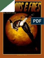 Cosmic Enforcers - Villains & Foes
