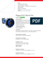 Plugue IP 67 Shock Tite - S3576W