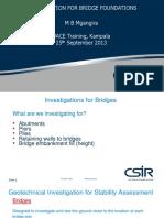 Bridge Foundations Training for UACE