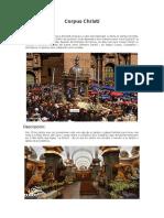 Corpus Christi Informe
