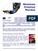 Brochure - Erasmus Mundus (ID)