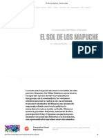 El Sol de Los Mapuche