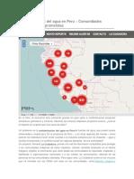 Contaminacion Del Agua en Peru