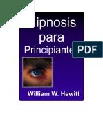 Hipnosis para Principiantes - William W Hewitt.pdf
