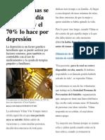 Tres Personas Se Suicidan Al Día en El Perú y El 70
