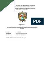 Determinación de Acidez Total, Acidez Fija, Acidez Volátil y Ph en Vino