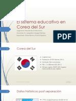 Exposición - El Sistema Educativo en Corea Del Sur