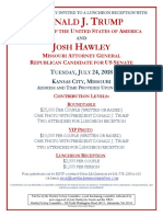 POTUS KC Invite