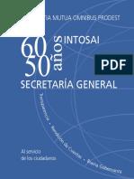 Publicación 60 Años INTOSAI y 50 Años Secretaría General