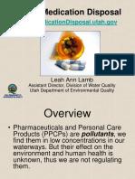 Proper Medication Disposal Program
