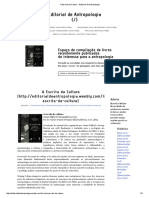 A Escrita da Cultura - Editorial de Antropologia.pdf