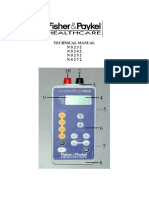 Fisher&Paykel NS272,232 Tens - Technical Manual