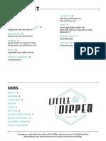 Little Dipper Opening Menus