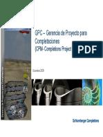 15 DW CPM- Completion Proj Management , CWOP by Mariano Sanchez