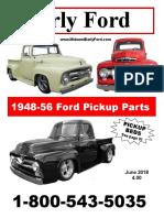 1948 56 Truck Parts Catalog