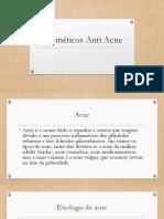 Cosméticos Anti Acne