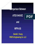 Comparison Between Atex94 9 Ec and Nfpa 85