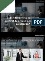Ramiro Helmeyer - ¿Qué Diferencia Hay Entre Control de Acceso y Control de Asistencia?