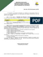 Edital N 019-18 - Classificao Oficial - Graduados 2018