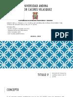 Grupo Nº 4 - Ley 26702 Titulos v -Vi y Vii - Cont. de Entidades Financieras y Seguros