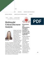 Article - Multimodal Critical Discourse Analysis – SemiotiX