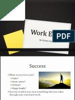 work ethic presentation